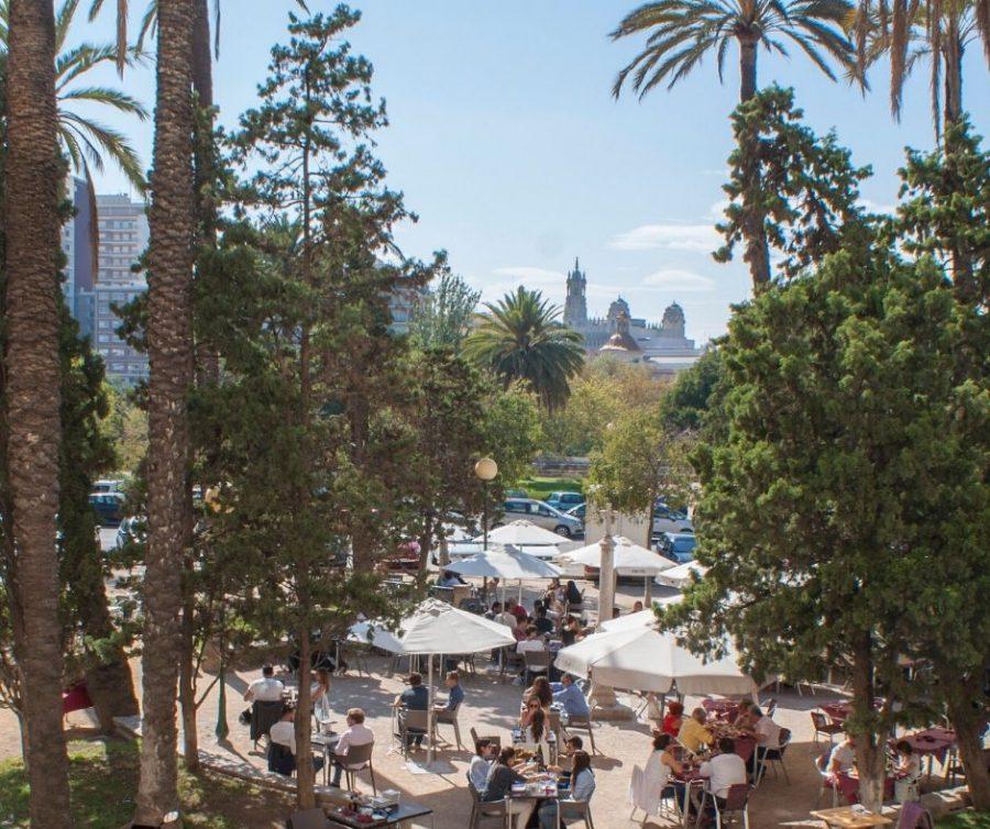 Abrimos las terrazas de la Alameda en la Fase 1 ¿Te apetece Llebeig Café?